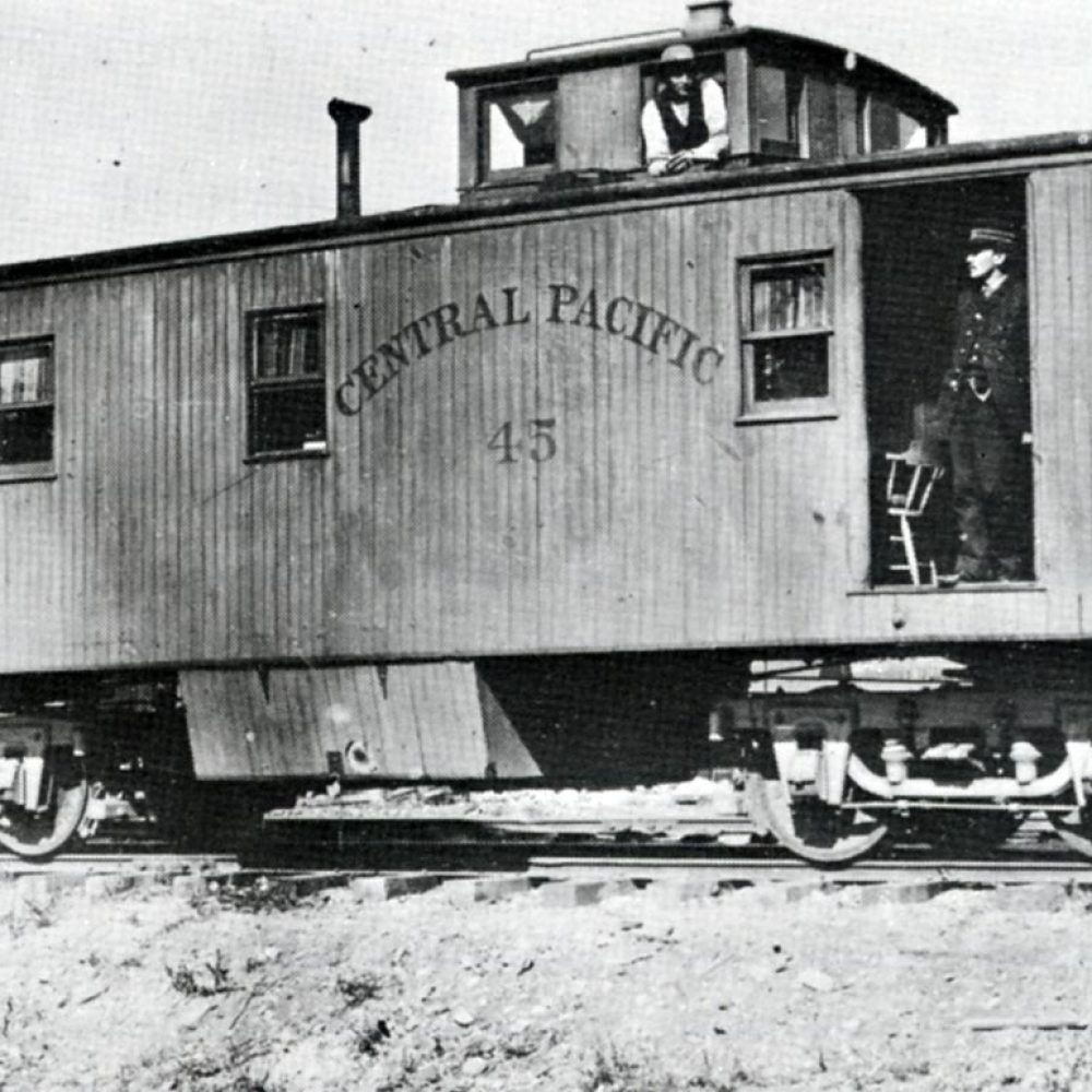 The Railroad Caboose by William F. Knapke