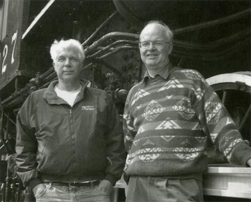 Authors Bruce Petty and Larry Mullaly