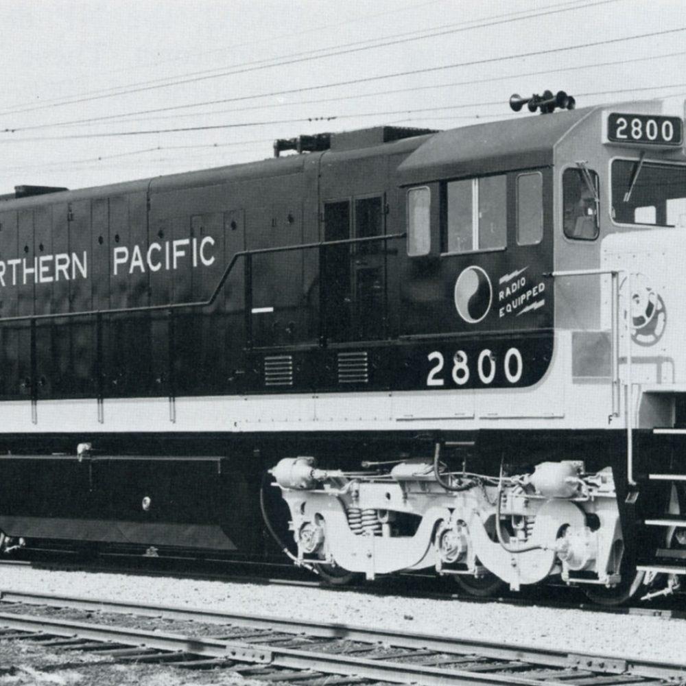 Northern Pacific Diesel Era by Lorenz P. Schrenk and Robert L. Frey