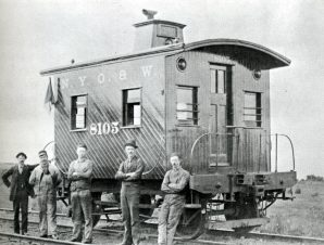The Railroad Caboose By William F Knapke Golden West Books