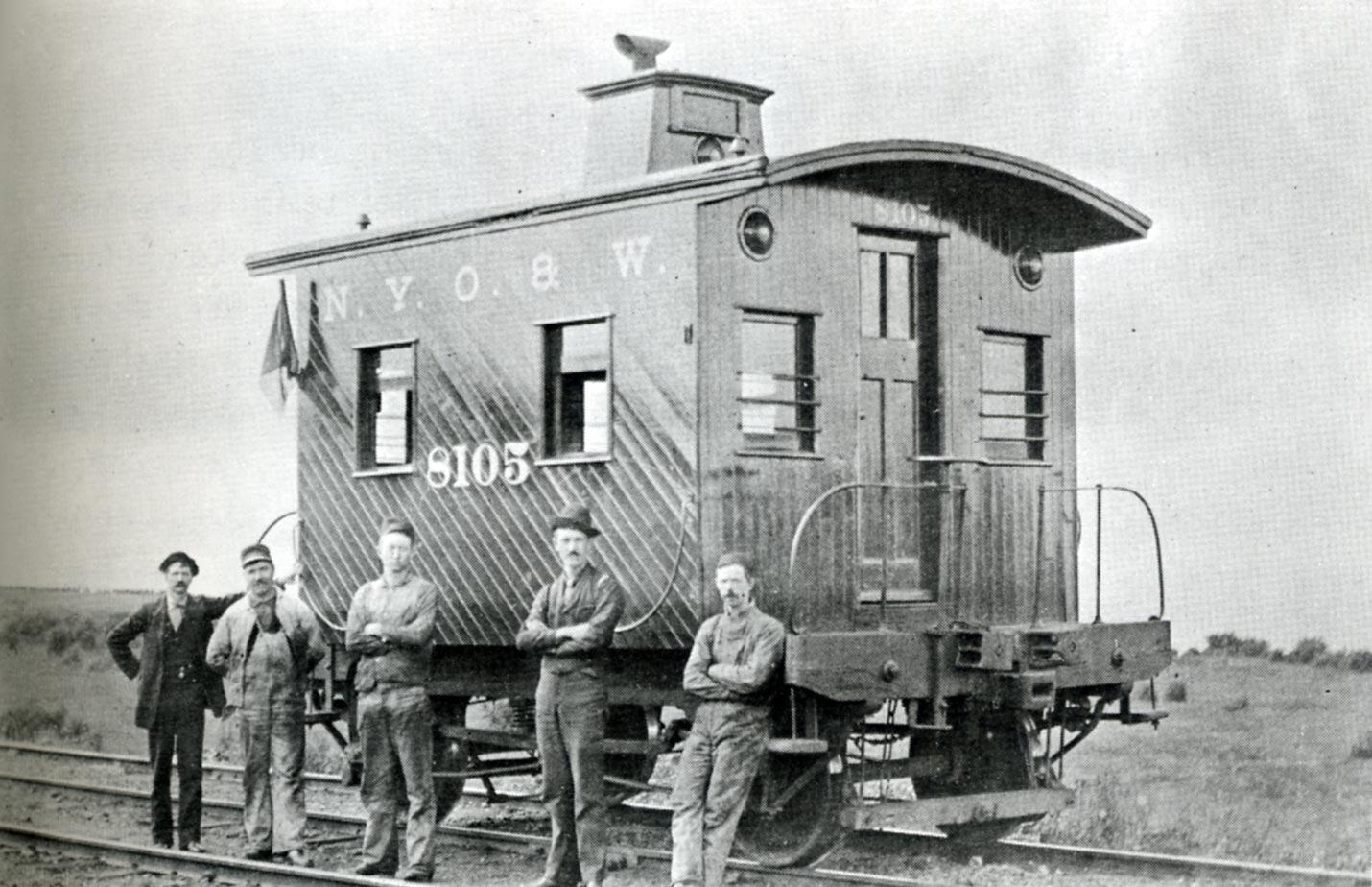 The Railroad Caboose
