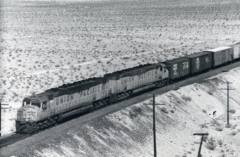 Union Pacific in Southern California by Donald Duke