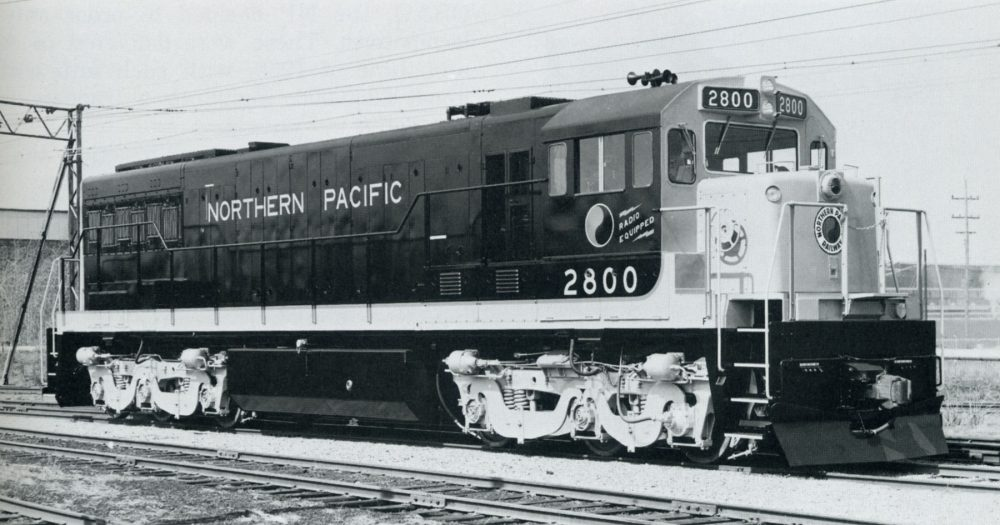 Northern Pacific Diesel Era by Lorenz P. Schrenk and Robert L. Frey